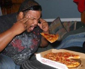 pizza negro
