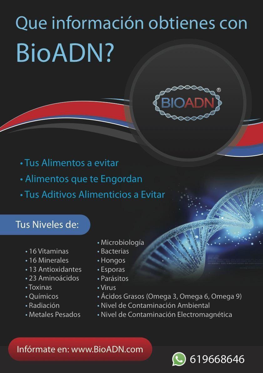 análisis genético adn bioadn
