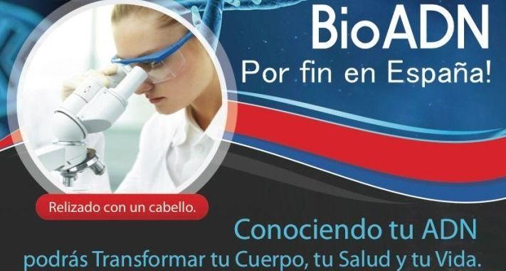 bioadn, prueba adn, prueba de adn, informe genético, adn, epigenética, entrenador personal