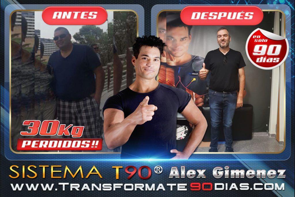 alex gimenez opiniones, entrenador personal, nutricionista, nutricion, personal trainer, como adelgazar rapido
