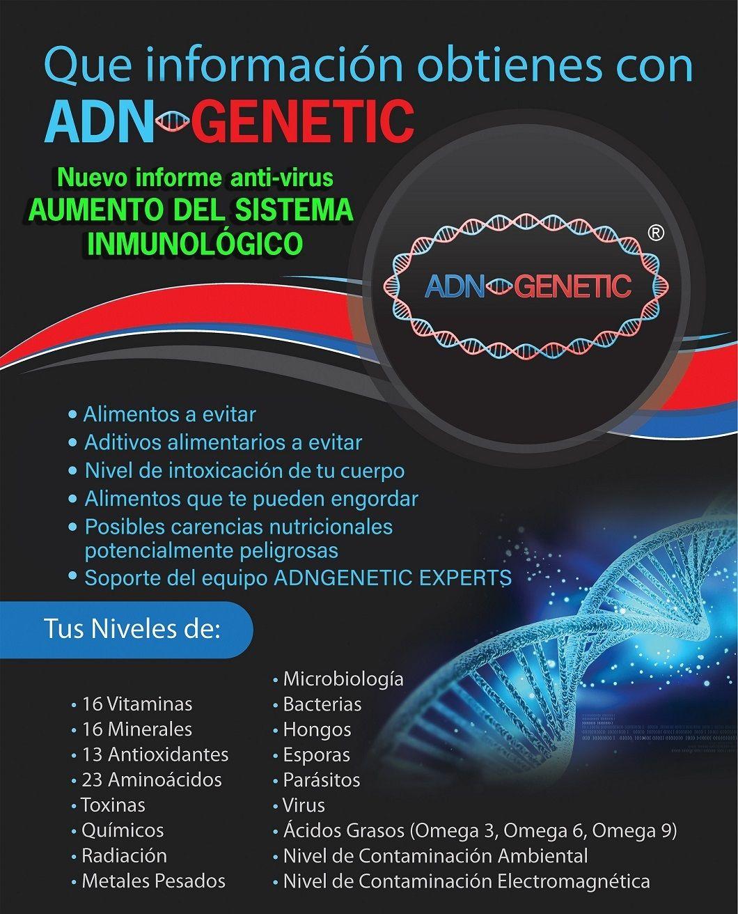 ADNGENETIC, análisis genético, prueba genética, test genético, epigenética, adn,